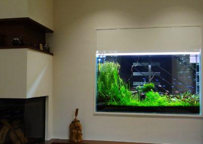 Akwarium pod schodami 350 L
