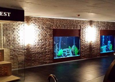 Akwaria w Hotelu Alter